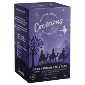 Conscious Dark Chocolate Stars (180g) main thumbnail image