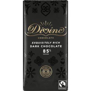 Divine Dark Chocolate 85% (100g) main thumbnail