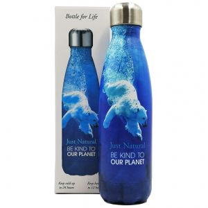 Just Natural Be Kind To Our Planet Bottle - Polar Bear main thumbnail image