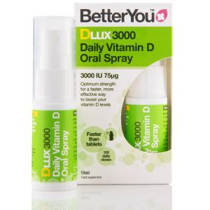 BetterYou DLux 3000 Vitamin D Oral Spray (15ml) main thumbnail