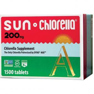 Sun Chlorella A 1500 Tablets main thumbnail