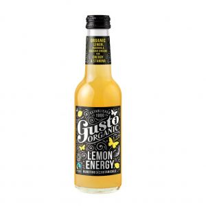 Gusto Organic Lemon Energy 250ml (4x250ml) main thumbnail
