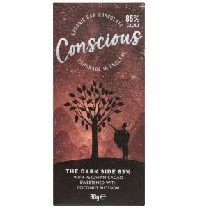 Conscious Chocolate Dark 85% (60g) main thumbnail image