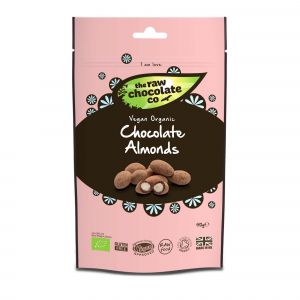 The Raw Chocolate Co - Raw Chocolate Almonds Pouch (110g) main thumbnail image